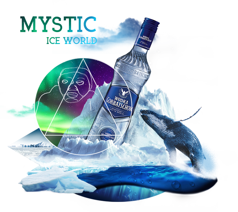 Wodka Gorbatschow - MYSTIC ICE WORLD